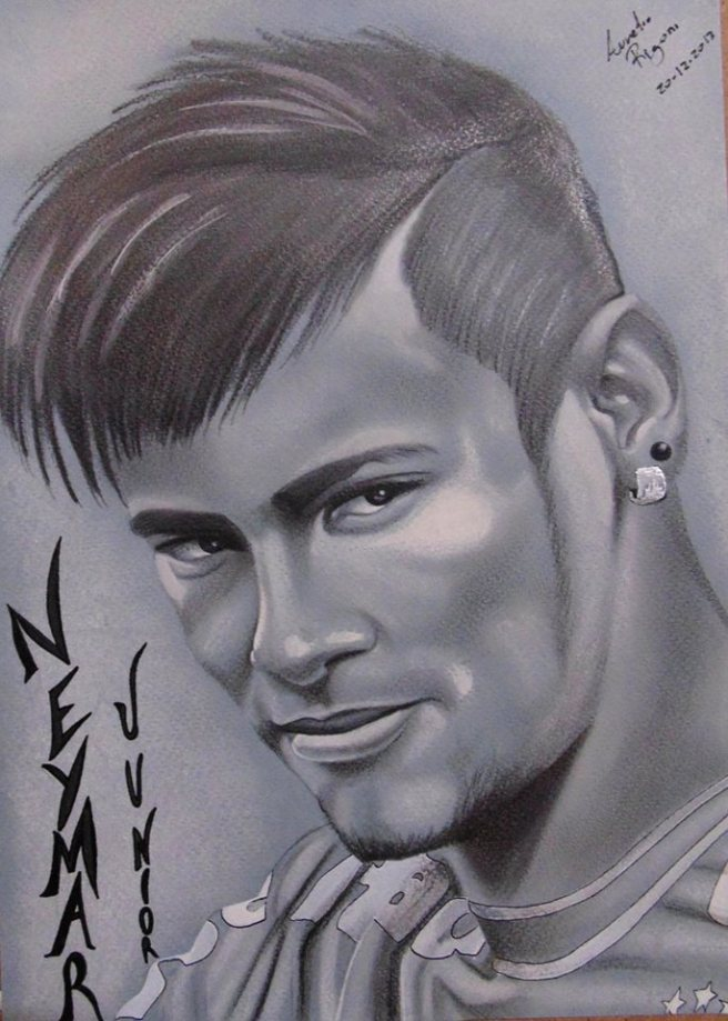 Retrato de Neymar Junior